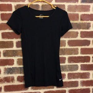 Nike dri-fit black workout shirt
